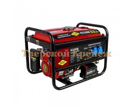 Генератор бензиновый DDE G330E