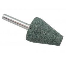 Шарошка абразивная ПРАКТИКА коническая 25х32 мм