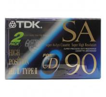 Кассета аудио TDK SA 90 SUPER HIGH Type II