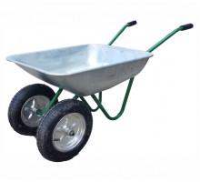 Тачка садовая с двумя колесами