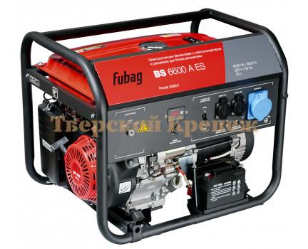 Генератор бензиновый FUBAG BS6600A ES