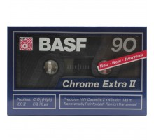 Кассета аудио BASF 90 CHROME EXTRA II