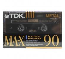 Кассета аудио TDK МА-X 90