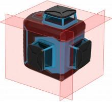 Лазерный уровень ПРАКТИКА NLC360-3D