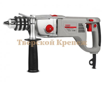 Ударная дрель двухскоростная CROWN CT10120