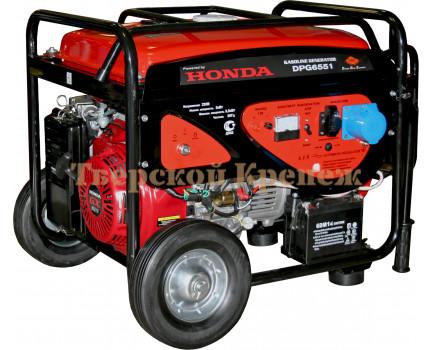 Генератор бензиновый DDE DPG6551 HONDA