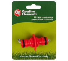 Соединитель быстроразъемный пластиковый QUATTRO ELEMENTI