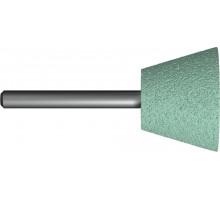 Шарошка абразивная ПРАКТИКА трапециевидная 35х25 мм