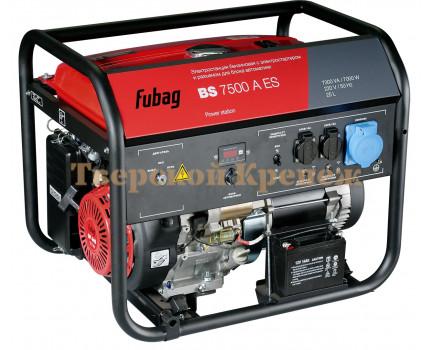 Генератор бензиновый FUBAG BS7500A ES