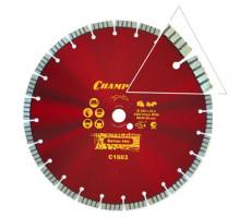 Диск алмазный CHAMPION PRO 350х25.4 CONCRETE CRUNCH