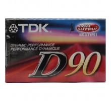 Кассета аудио TDK D90