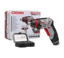 Аккумуляторная шуруповёрт отвертка CROWN CT22024 MC