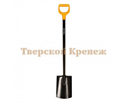 Лопата штыковая с закругленным лезвием FISKARS Solid™