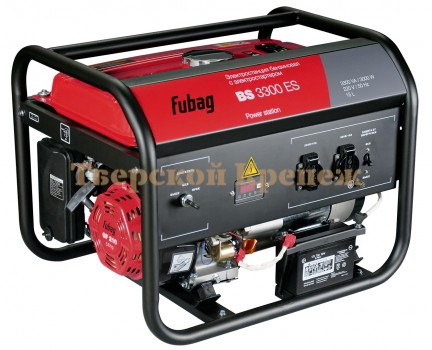 Генератор бензиновый FUBAG BS3300ES