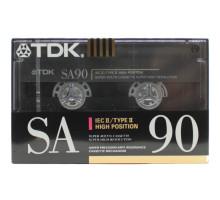 Кассета аудио TDK SA 90 CrO2 Type II