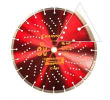 Диск алмазный CHAMPION PRO 350х25.4 HAVYCUT