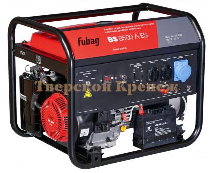 Генератор бензиновый FUBAG BS8500A ES