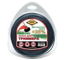 Леска триммерная DDE STEEL ROD LINE 3.0 56 м