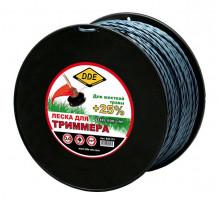 Леска триммерная DDE STEEL ROD LINE 3.0 167 м