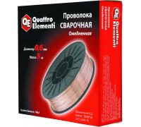 Проволока сварочная QUATTRO ELEMENTI 0.6 мм 5 кг