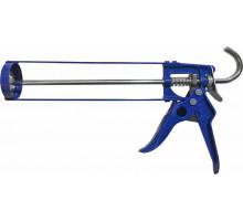 Пистолет для герметика скелетный усиленный КОБАЛЬТ