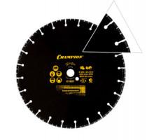 Диск алмазный CHAMPION PRO 350х25.4 V-Tech Multi Purpose