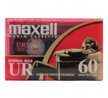 Кассета аудио MAXELL UR 60